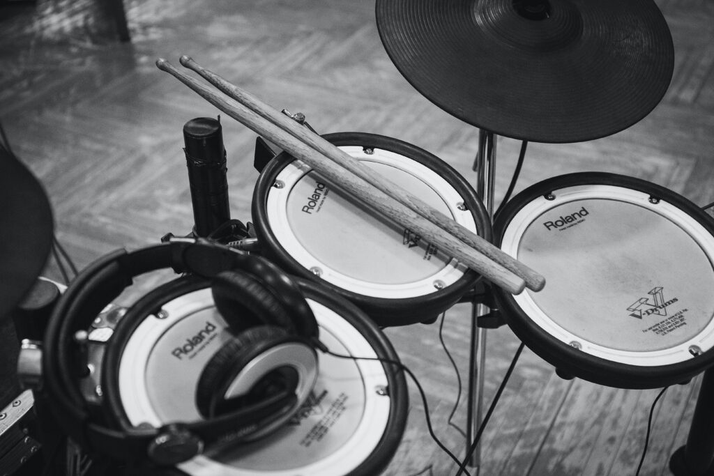 Electronic Drum Kit Practice