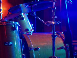 drum, light, music
